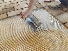 End Grain Floor Installation
