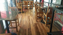 Skip Planed Flooring & Pub Stools