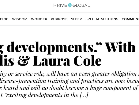 Thrive Global Interview