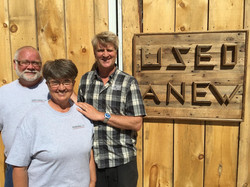 Pete Nelson with Larry and Luann