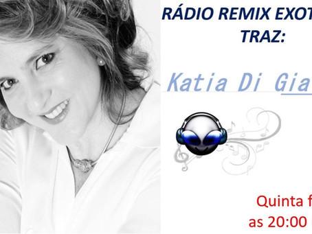 Amanhã estarei ao vivo na Rádio Remix Exotera