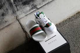 Nike Gucci Collab To Make Custom Clean Shoe