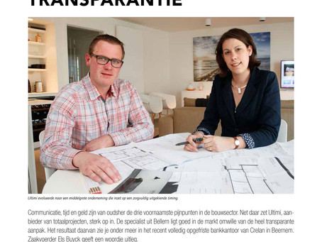 Het succes van transparantie