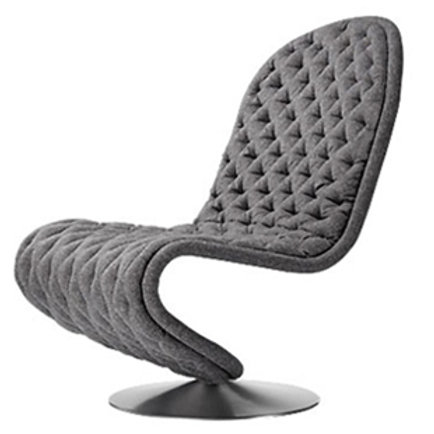 Verpan System chair low lounge
