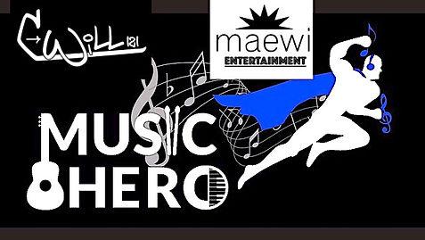 MUSIC HERO Poster for Brochure or FlyerJ