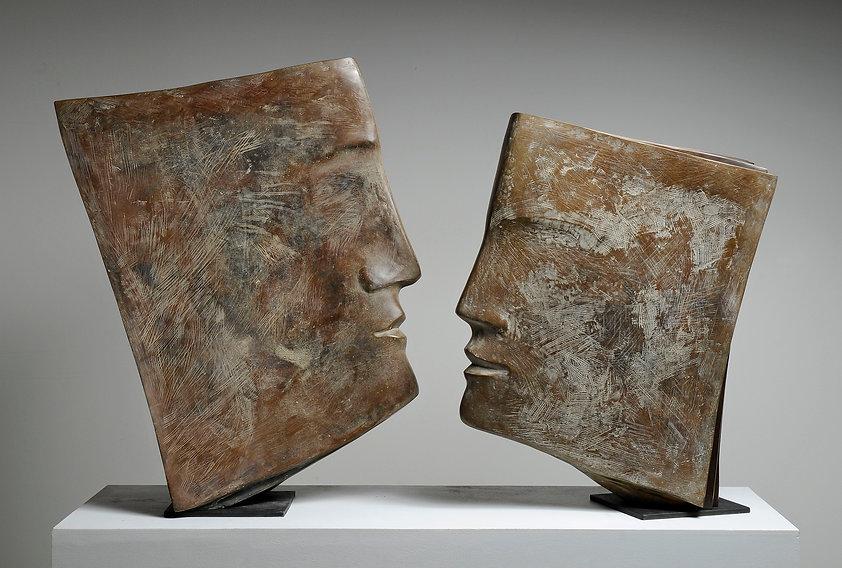 Sculpture Libris et Biblios de Jacques Le Bescond