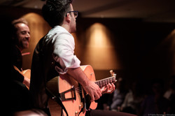 w/ Manolo Pereira (Guitar) Photo by Pablo Benavent