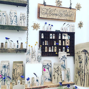 Ceramic Botanist by Louise Condon Designs Craft stand, flower show Cheshire