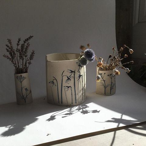 Louise Condon Designs Ceramic Botanist s
