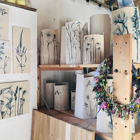 Ceramic Botanist by Louise Condon Designs studio Chester