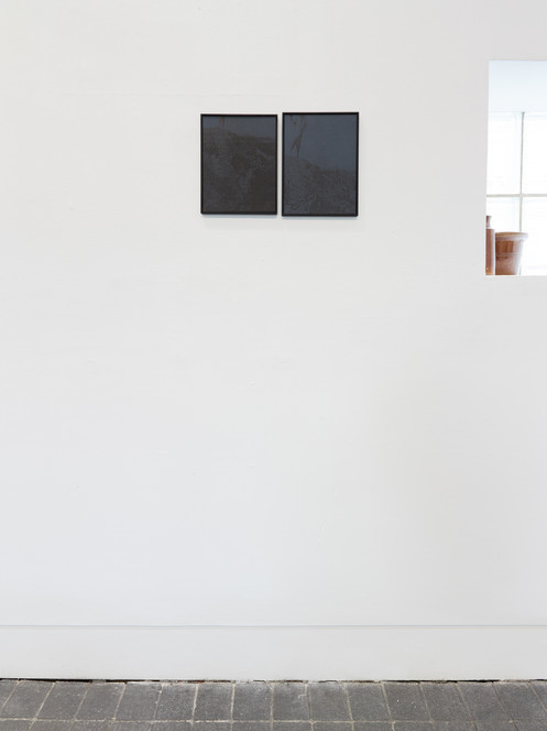 Installation view, Project Space comission Jerwood Visual Arts, 2018.