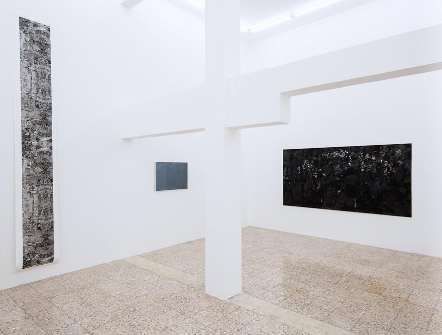 Installation view Always Already eins gallery, 2019