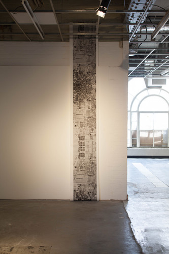 I am still adjusting mum, archival pigment print on kozo paper, 52 x 436 cm, 2019