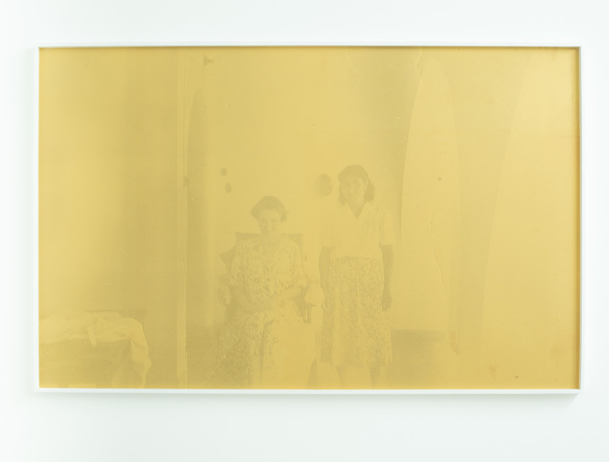 Theta, archival pigment print and screen-print on paper, 66 x 104 cm, monotype, 2019.