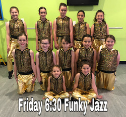 Friday 6:30 Funky Jazz