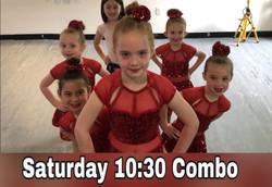 Saturday 10:30 Ballet/Tap