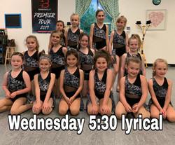 Wednesday 5:30 Lyrical