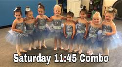 Saturday 11:45 Ballet/Tap