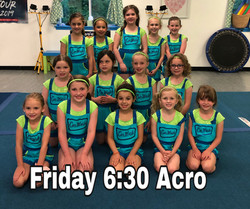 Friday 6:30 Acro