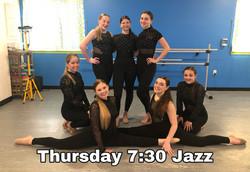 Thursday 7:30 Jazz