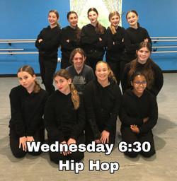 Wednesday 6:30 Hip Hop