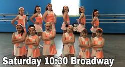 Saturday 10:30 Broadway Tap/Jazz