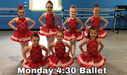 Monday 4:30 Ballet