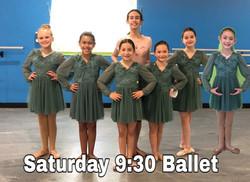 Saturday 9:30 Ballet
