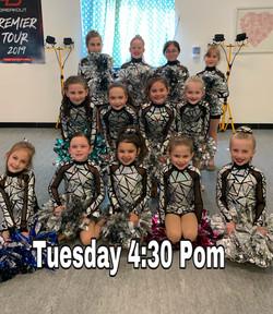 Tuesday 4:30 Pom