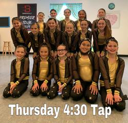Thursday 4:30 Tap