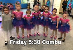 Friday 5:30 Ballet/Tap