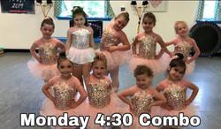 Monday 4:30 Ballet/Tap