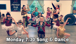 Monday 7:30 Song and Dance