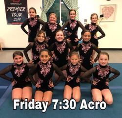 Friday 7:30 Acro