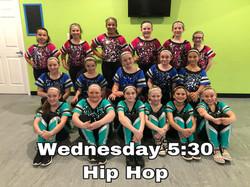 Wednesday 5:30 Hip Hop