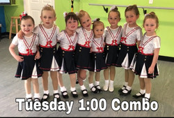 Tuesday 1:00 Ballet/Tap