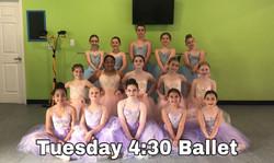 Tuesday 4:30 Ballet
