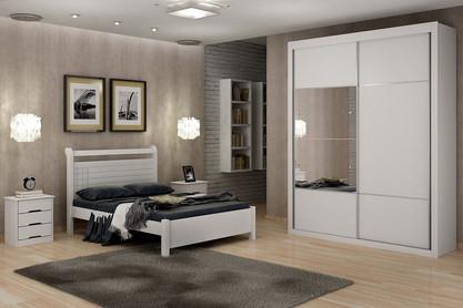 Dormitório de Casal Branco
