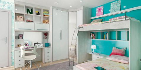 Dormitório Infantil Planejado 100% MDF