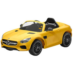 Benz AMG GT S Yellow