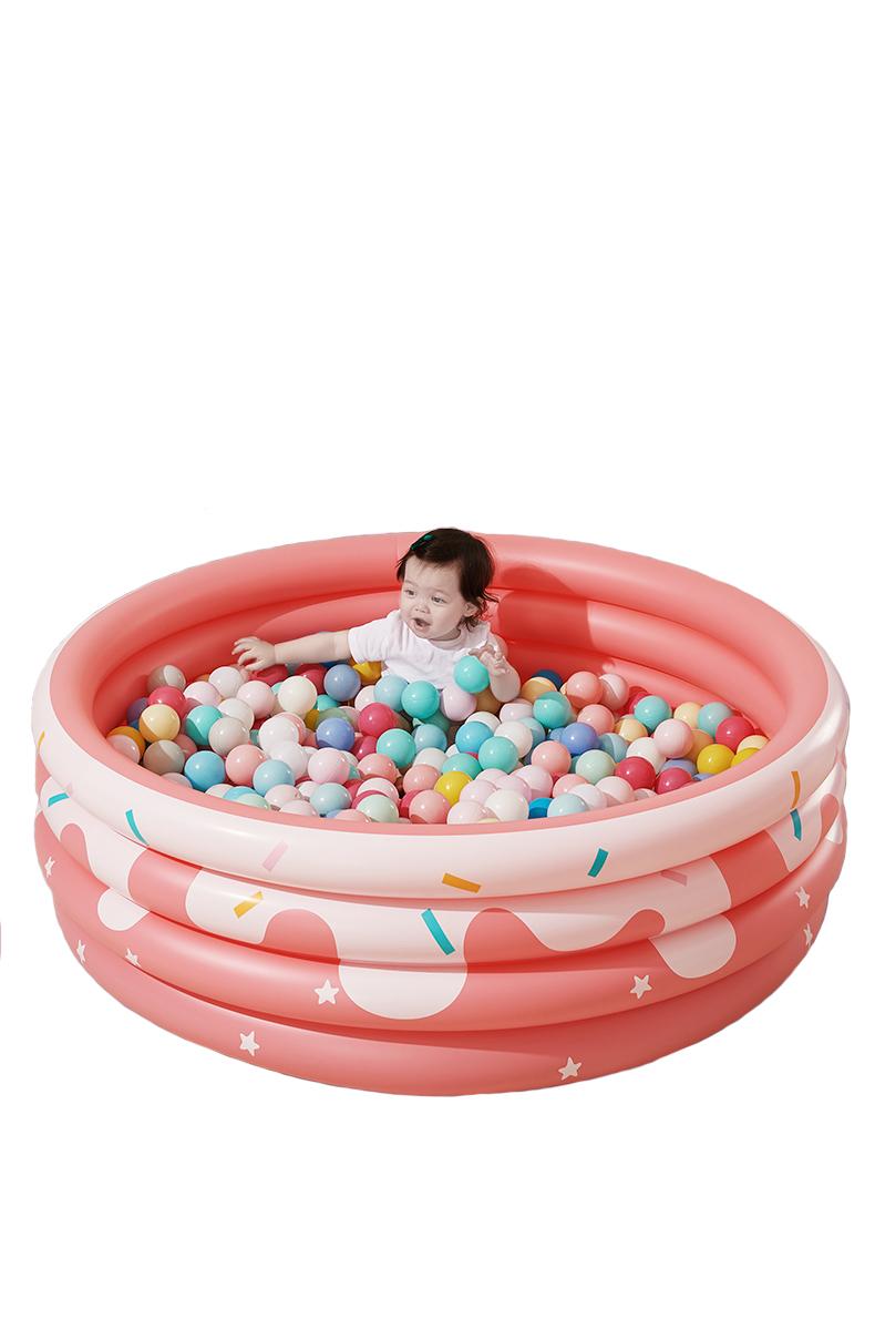 pink ball pool