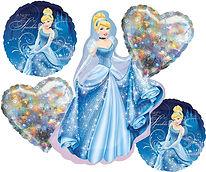 Balloon – Cinderella Birthday Bouquet.jp