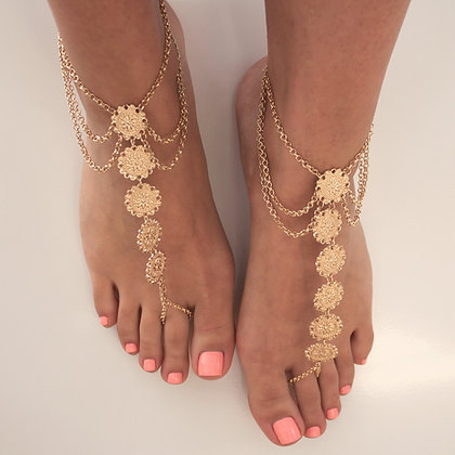 Kiss my feet chain – Sunshine