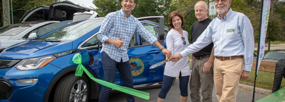 Portsmouth Drive Electric Ribbon Cutting