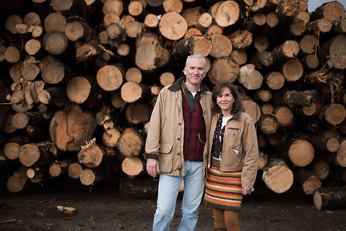 Locally Sourced Wood for Sustainable Hea