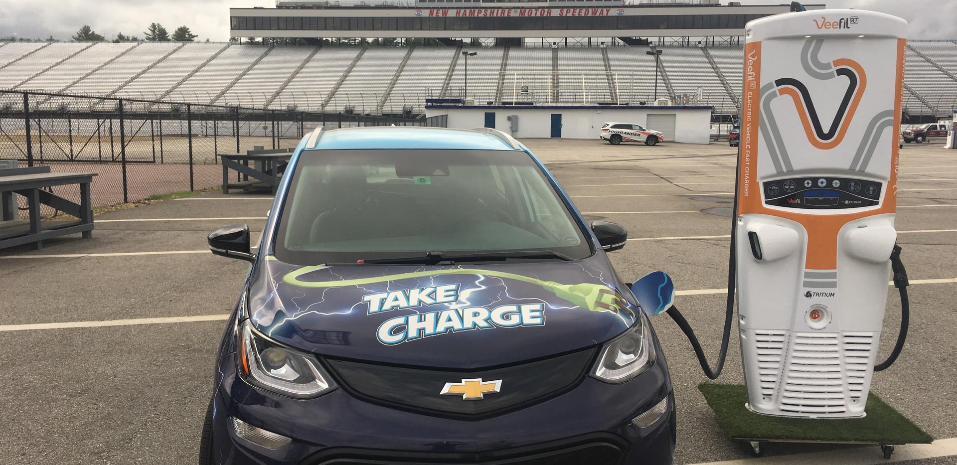 EV at NH Motor Speedway
