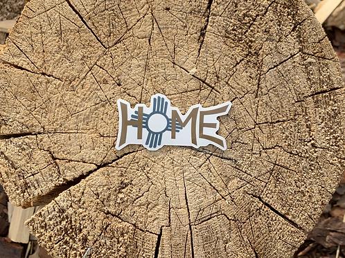 "New Mexico ""Home"" Sticker"