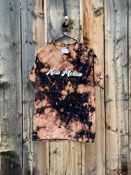 New Mexico - Bleach Dye T-Shirt