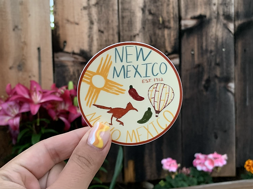 All About NM Doodle Sticker