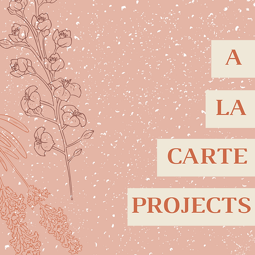 A La Carte Projects